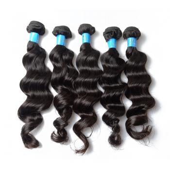 Virgin Brazilian Hair Loose Wave, 100% Unprocessed 5A Human Hair