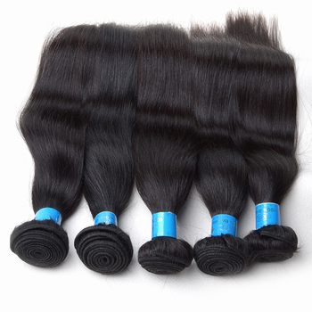 Straight top grade cheap brazilian virgin hair extensions