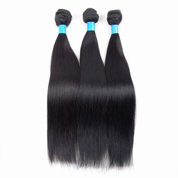 Best selling Brazilian silky straight human hair extensions
