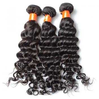 human hair deep wave extensions