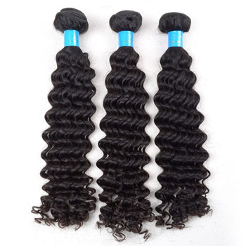 curly hair weave,brazilian wave,unprocessed brazilian