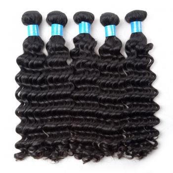 7A Brazilian Virgin Hair,Deep Wave