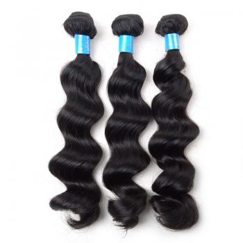 7A Brazilian Virgin Hair, Loose Wave,Wholesale Human hair