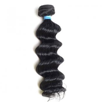 jet black loose wave,brazilian body wave