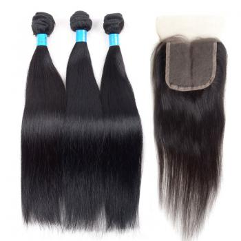 Brazilian Virgin Hair,Cheap Human Hair,Lace Closures,5A human hair,straight hair