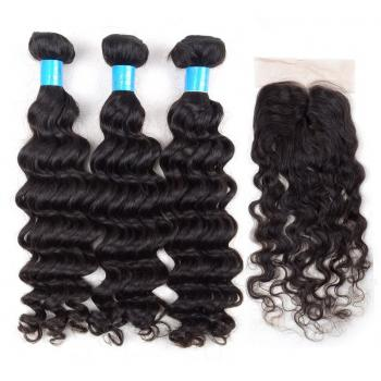 Brazilian Virgin Hair,Lace Closure,100%human hair