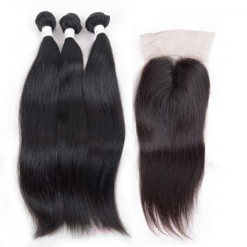 Malaysian Virgin Hair,straight lace closure