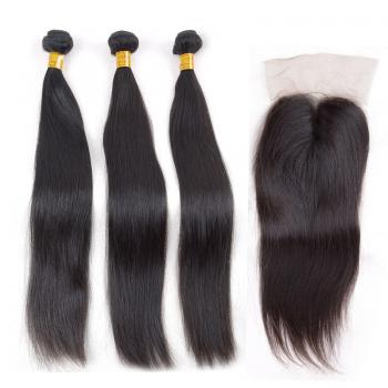 lace closure straight,100% human hair,lace