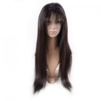 Full Lace Front Wig,straight wigs for black women,Brazilian human hair