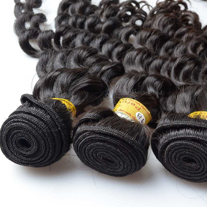 Peruvian bundle hair