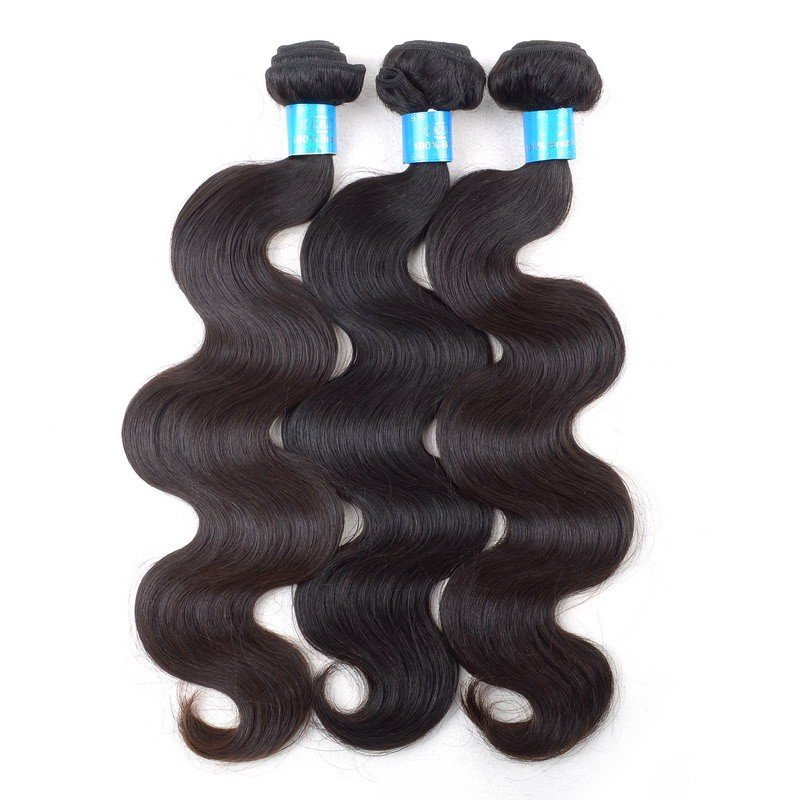 unprocessed Brazilian hair