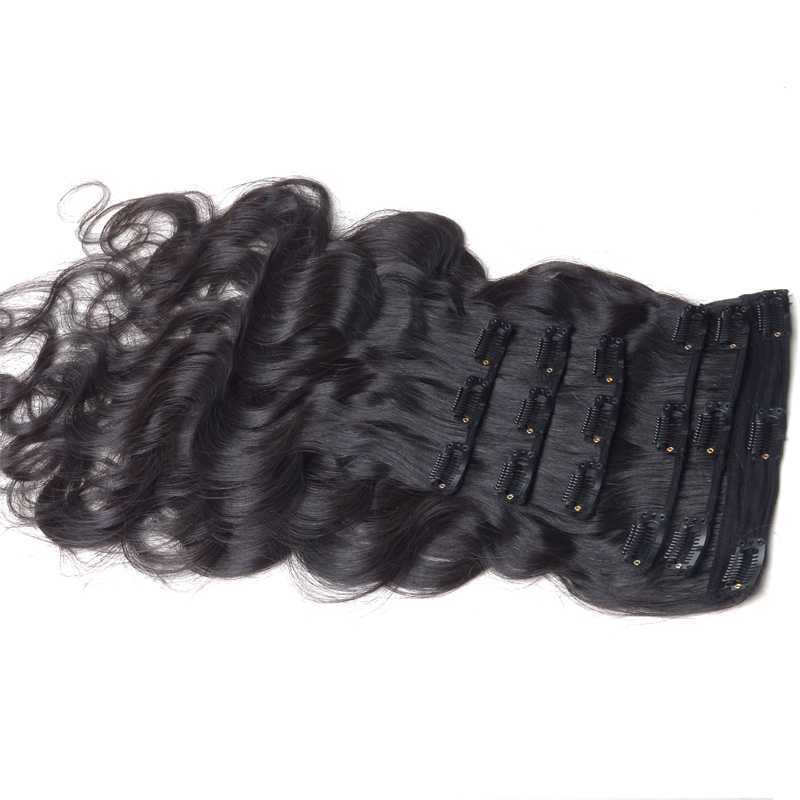 6A 100% human hair extensions