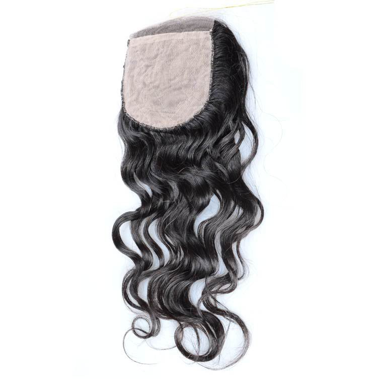 Silk lace closure
