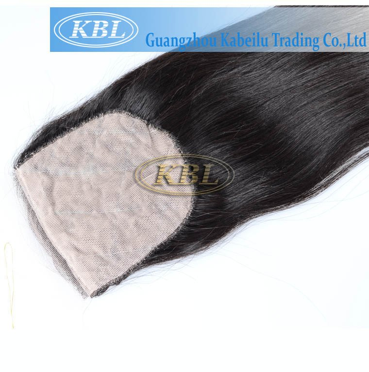 Brazilian silk closure Hair