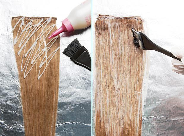How to dye brazilian hair weaves kabeilu thirdly your brazilian hair with dye as soon as the color mixture is readyb it so that the dye can be evenly coateden use the aluminum foil to pmusecretfo Image collections