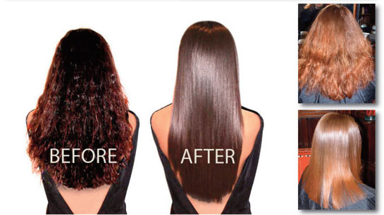 Brazilian Hair Straightening Treatments Eliminate Frizz